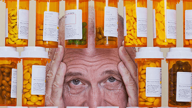 many people suffer from medication overload