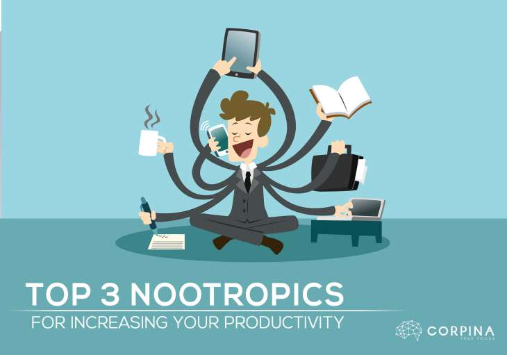 Top 3 Nootropics For Increasing Your Productivity in 2017