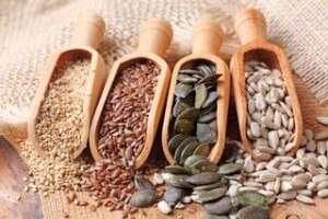 various healthy brain seeds