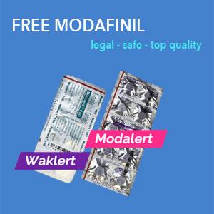 free modafinil trial
