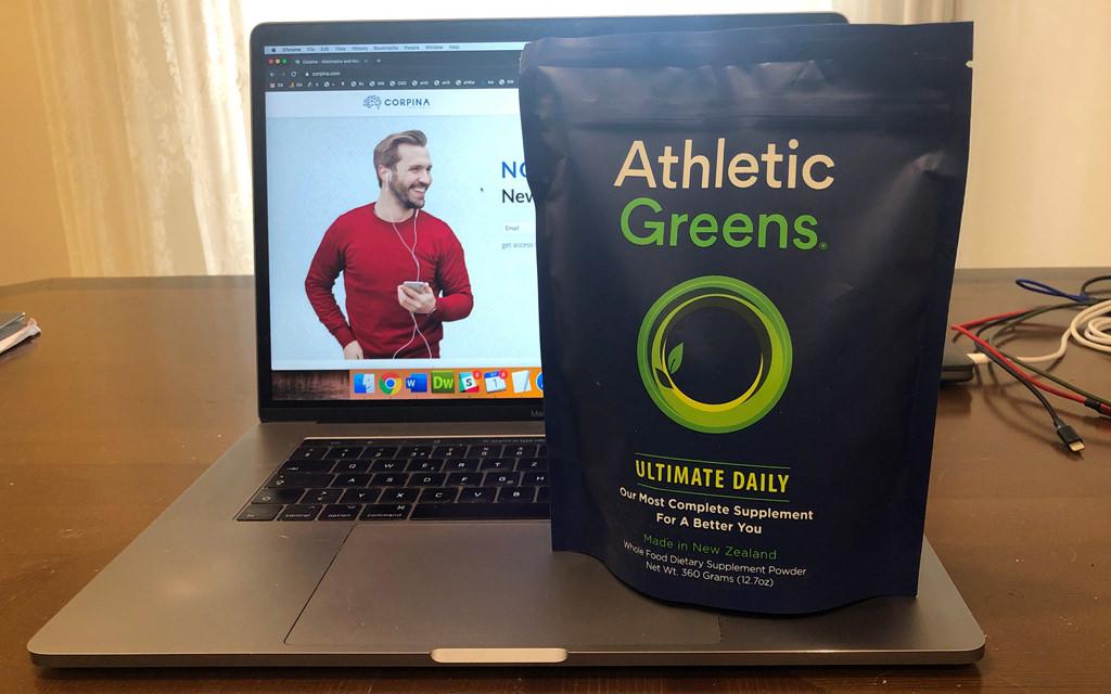 Athletic Greens bag
