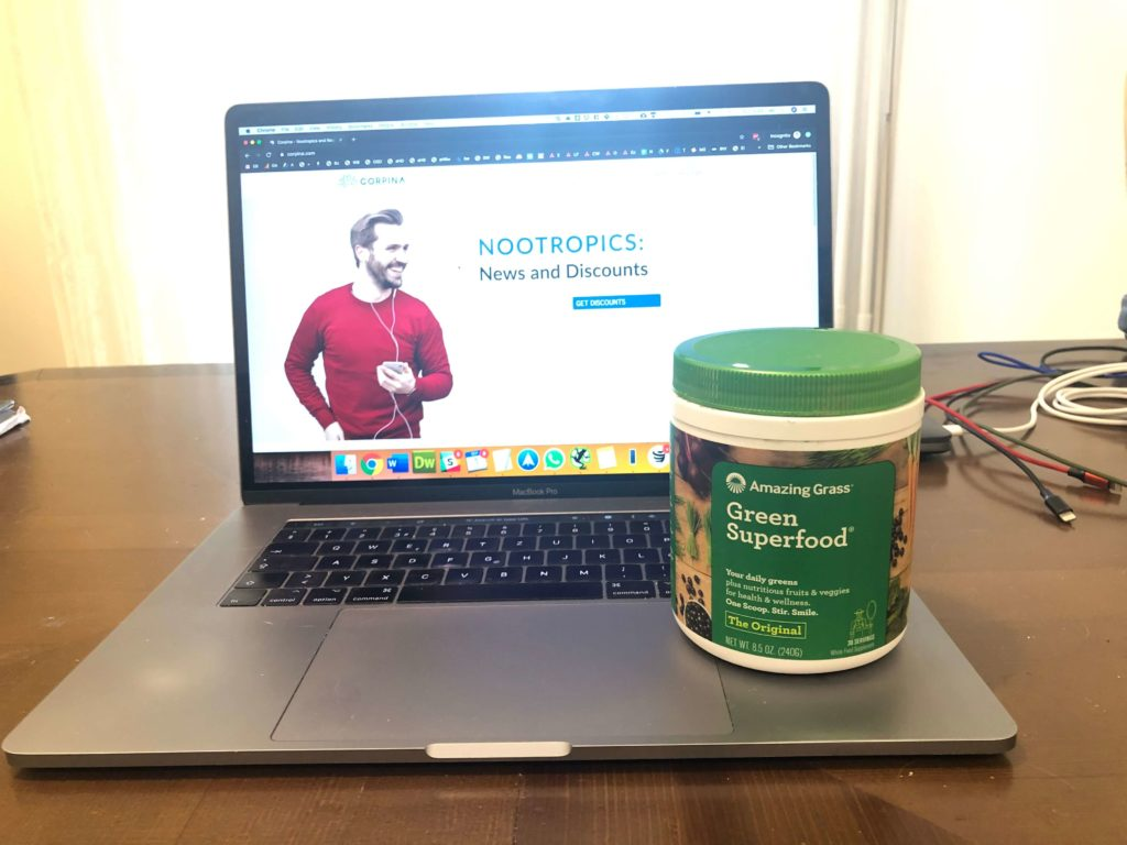 My Amazing Grass Green Superfood Experience